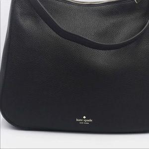 Kate Spade Black Leather Crossbody Bag